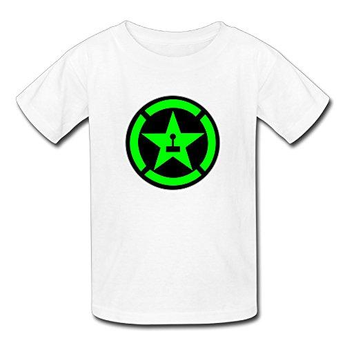 FEDNS Kid's Achievement Hunter Logo T Shirt L
