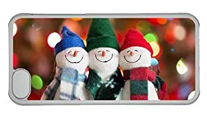 Hipster coolest for ipod Touch 4 case happy snowman PC Transparent for Apple for ipod Touch 4