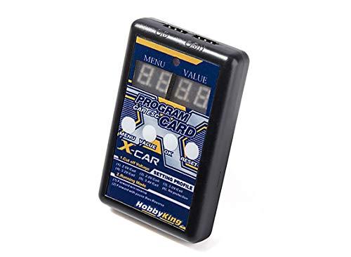 HobbyKing X-Carプログラムカード 車用 ESC 35A/45A/60A B07N82YJQX