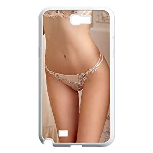 Samsung Galaxy Note 2 Case Sexy Girl Flesh White Yearinspace YS857201