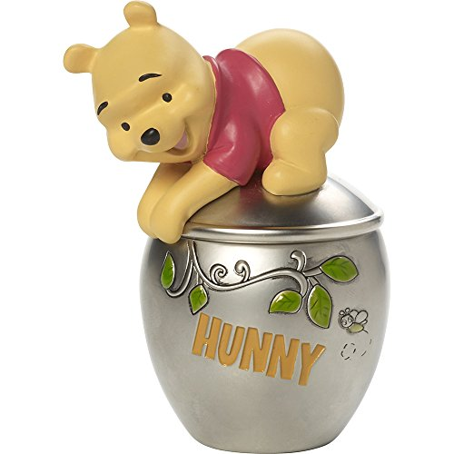 Precious Moments, Disney Showcase Winnie The Pooh Trinket Box, Hunny Pot, Resin/Zinc Alloy, #171706 (Covered Box Moments Precious)