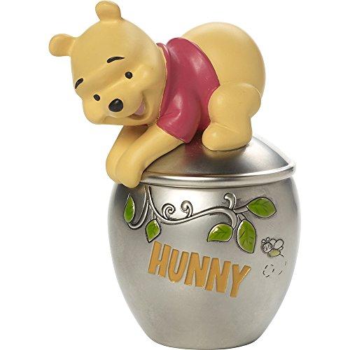 Precious Moments, Disney Showcase Winnie The Pooh Trinket Box, Hunny Pot, Resin/Zinc Alloy, #171706 (Precious Box Moments Covered)