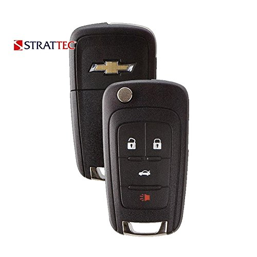 OEM 4 Button Remote For Chevrolet Cruze Camaro Equinox Sonic