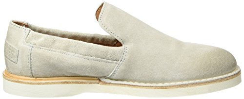 Shabbies Slipper Velourleder, Mocasines para Mujer, Blanco (Off White), 39 EU Shabbies Amsterdam