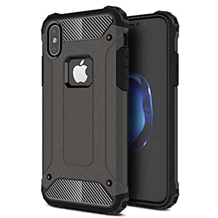 best sneakers 91a63 cd2e6 Amazon.com: AT&T iPhone X Case, Drop-proof Hybrid Case Slim Fit ...
