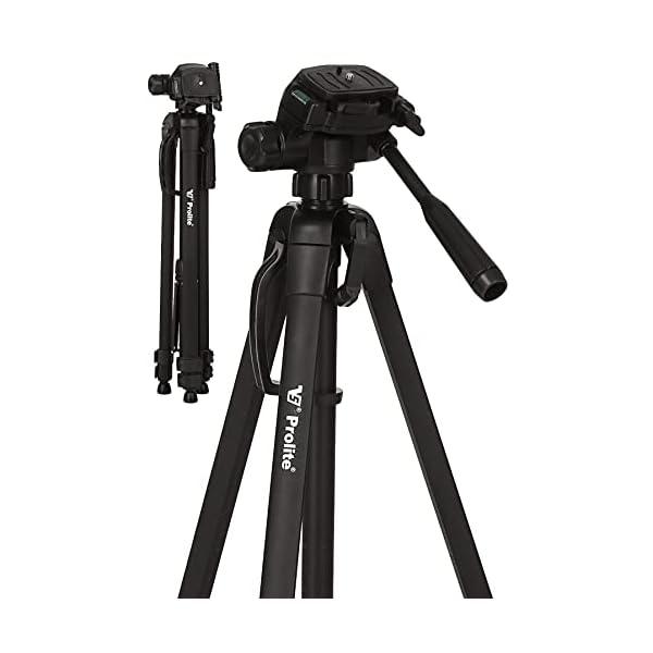 RetinaPix Prolite Tripod PL 630-LW 57 inch for DSLR, Video Camera, Mobile & GoPro