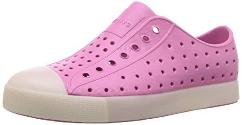 Native Shoes Unisex Jefferson Glow Junior Sneaker, Woodward Pink, 2 Medium US Little Kid