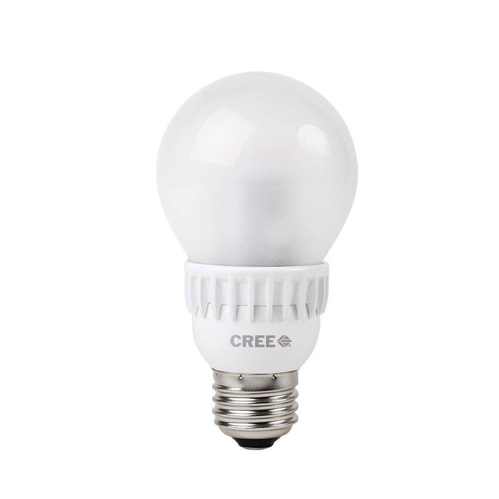 Cree 40W Equivalent Daylight (5000K) A19 LED Light Bulb (4-Pack)