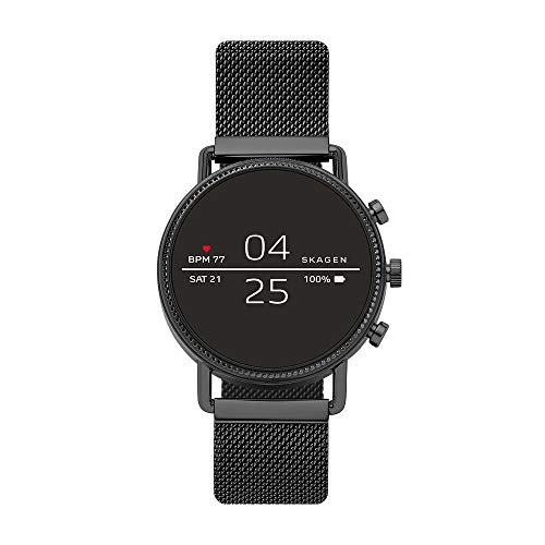 Skagen Connected Falster 2 Stainless Steel Magnetic Mesh Touchscreen Smartwatch