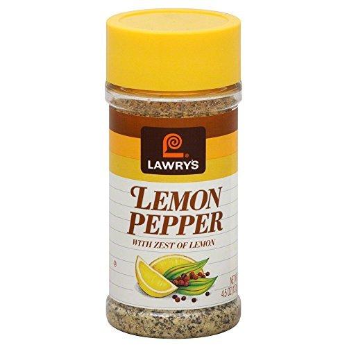 Lawrys Lemon and Pepper Seasoning - 4.5 oz. jar, 12 per case by Lawry's