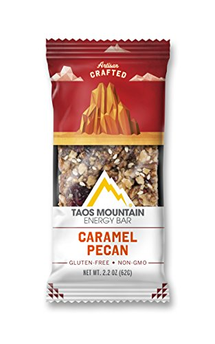 Taos Mountain Energy Bar - Caramel Pecan (2.2 Ounce, 6 Count)