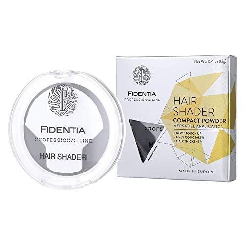 Fidentia Maquillaje Capilar – Corrector de Pelo – Retoca las raíces, canas y la pérdida de cabello al instante