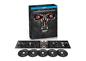 Terminator Anthology (The Terminator / Terminator 2: Judgment Day / Terminator 3: Rise of the Machines / Terminator Salvation) [Blu-ray] from WarnerBrothers