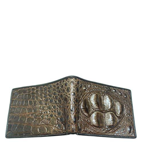 Alligator Wallet Skin Bifold Genuine Crocodile Genuine Crocodile Man Leather g8xqnRtZw