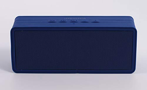 Insignia Portable Bluetooth Speaker (NS-SPBTBRICK-SB) Dark Blue - New
