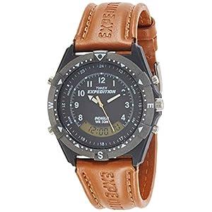 Timex Analog-Digital Black Dial Men's Watch-TW00MF104
