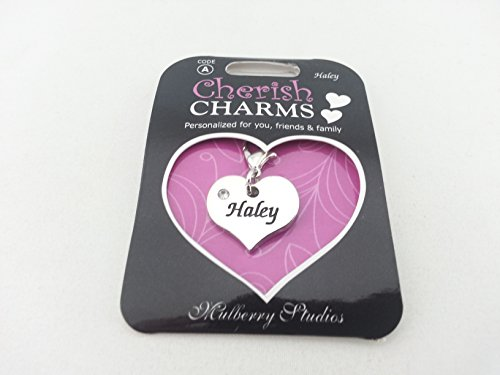 Mulberry Studios - Personalized Cherish Charms - Haley (Haley Jewelry)