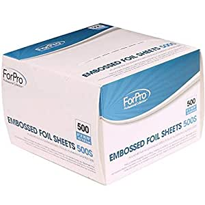 Foilsheets 500s 5 Inch X 10.75 Inch, 500 Count, for pro