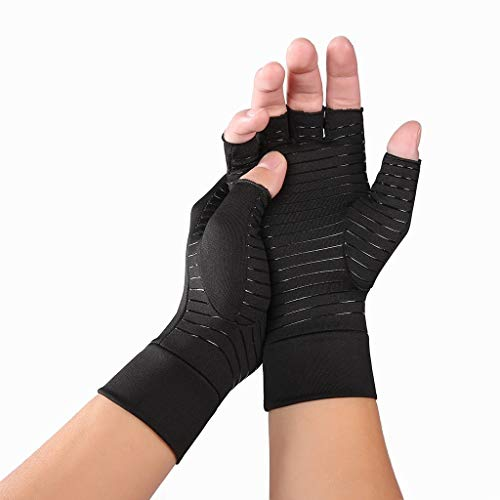 Jinjin Training Arthritis Pressure Gloves Indoor Sports Care Gloves Rehabilitation Training Arthritis Gloves Gift for Your Sweetheart, Lover and Yourself