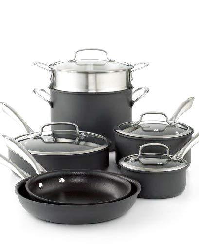 Cookware set. Best 11 Piece Pots and Pans Non Stick, Aluminu