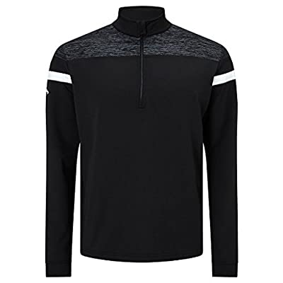 Callaway Golf 2017 Mens Heathered Stretch Knit Sweater Thermal Golf Pullover