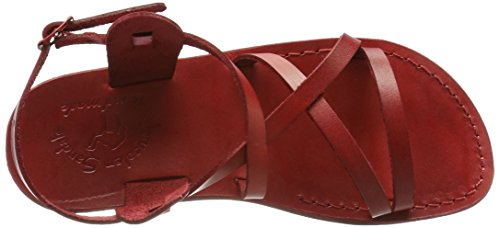 Gladiator Sandals Tzippora Red Women's Jerusalem 14qBPx7
