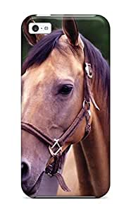 High Quality Shock Absorbing Case For Iphone 5c-horse