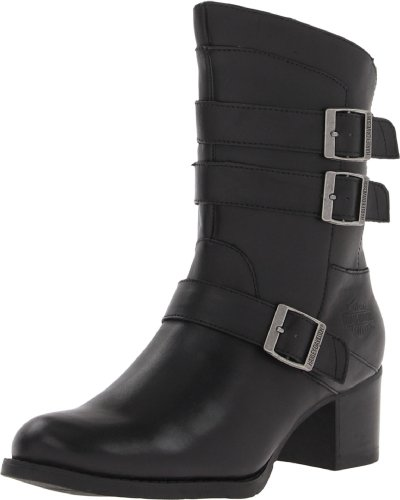 Harley-Davidson Womens Holly Boot Black vGaZLP4yji