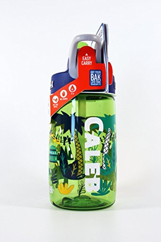 Personalized .4L Kid's Jungle Animals Camelbak (Kids Personalized Name Water Bottle)