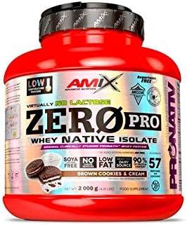 Amix Zeropro Protein 2 Kg Cookie Crema 2000 g: Amazon.es ...