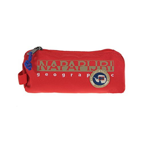 Napapijri lápiz lápiz soporte soporte bolsillos nuevo Me., Rote, talla universal Rote