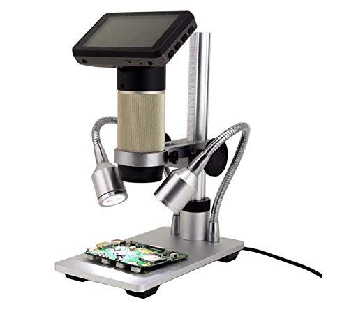【超特価SALE開催!】 WESAPPINC B07GXSWNR5 HDMI顕微鏡カメラ - 1920x1080p解像度で本物のデジタルHDイメージ - - 300x光学ズーム、(+4xデジタル)、LEDライトと液晶ディスプレイ WESAPPINC。 B07GXSWNR5, デニム バッグ アクセサリーTIFOSE:43bcb472 --- a0267596.xsph.ru