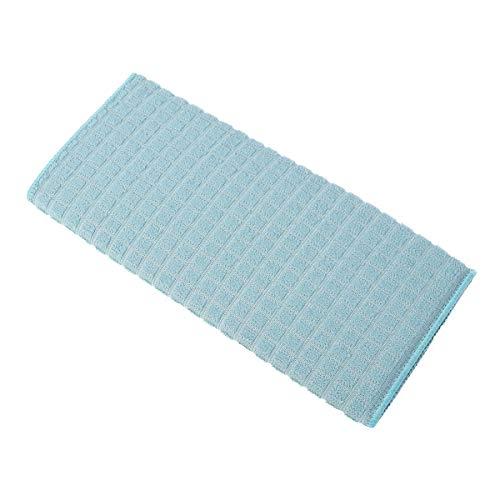 OUNONA - Toalla de Microfibra para Limpieza de la Suciedad, 38 x 51 cm, Color Azul Claro: Amazon.es: Hogar