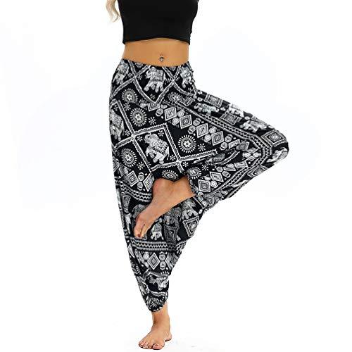 Lvguang Aladdin Donna Larghi Boho Loose Donne Casual Pants Sportivi Stile1 Tuta Pantaloni Harem Yoga rYwqrPX0