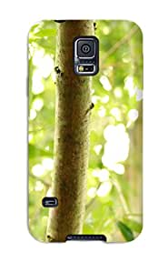 Waterdrop Snap-on Bamboo Case For Galaxy S5