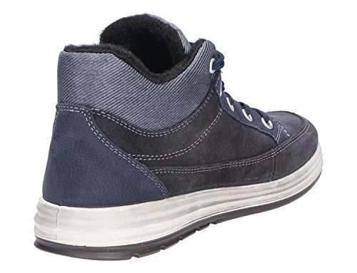 Patrick Ricosta Hautes Sneakers Bleu Homme wvanYHnqRx
