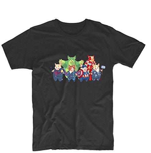 Marvel+Comics+Retro+Shirt Products : The Corgi Avengers Marvel Comics Mens & Womens Printing Design Tee