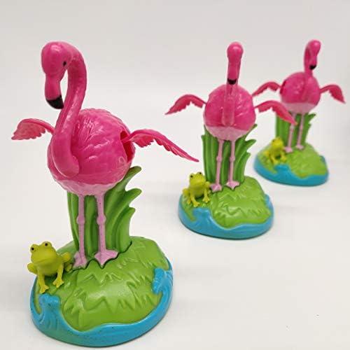 Dancing Frog Flamingo Swinging Dancer Kid Science Solar Toy Halloween Decor