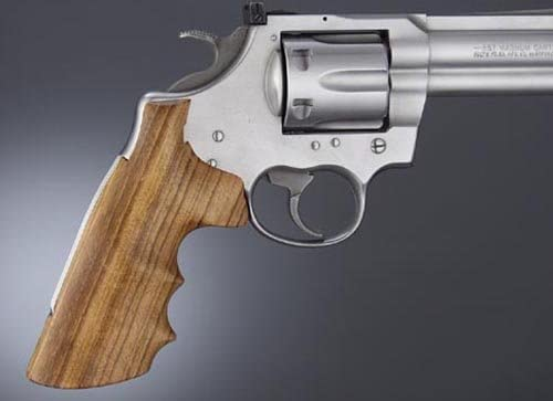 New wood grips for Colt Cobra Anaconda