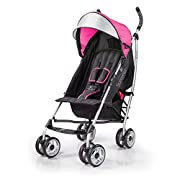 Summer Infant 3Dlite Convenience Stroller, Hibiscus Pink