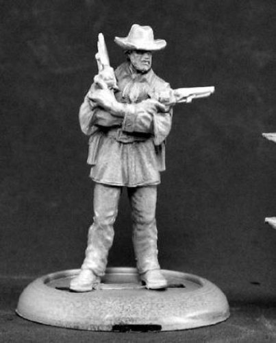 Jeb Lawson Western Outlaw Chronoscope Miniature Figures by Reaper Miniatures