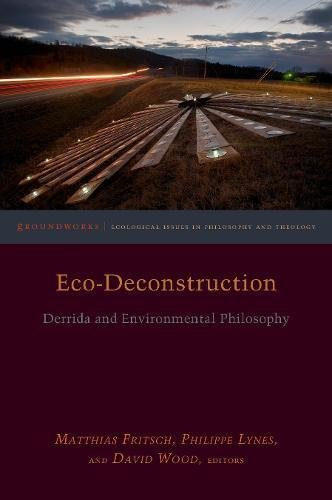 Book cover from Eco-Deconstruction: Derrida and Environmental Philosophy (Groundworks: Ecological Issues in Philosophy and Theology) by Claire Wolfe