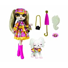 The Bridge Direct Pinkie Cooper Travel Pinkie in London Collection Doll with Pet