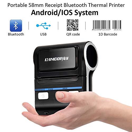 E-INCOPAY Thermal Printer Receipt Mobile 80mm Portable