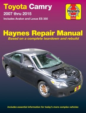 (Toyota Camry & Avalon & Lexus ES 350, 2007-2015: Does not include information specific to hybrid models (Haynes Automotive))