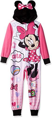 Disney Girls  Big Minnie Mouse Hooded Blanket Sleeper 33e1bc5fe