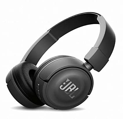 JBL Hi-Fi T450BT On-Ear Headphones Black Genuiane