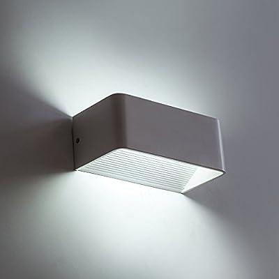 Salón creativo dormitorio pasillo luces pared lámparas, personalidad decorada escalera led lámpara de noche , 2: Amazon.es: Iluminación