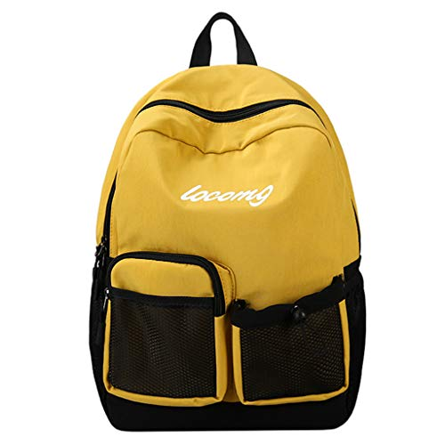 - Pengy Student Anti-theft Nylon Backpack Cloth Daily Waterproof Hiking Laptop Backpack with Multi Pocket