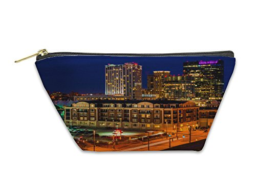 Gear New Accessory Zipper Pouch  The Legg Mason Building And Others During Twilight From Federal  Large  5646094Gn